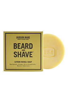 HUDSON MADE Citron Neroli beard & shave soap 100g