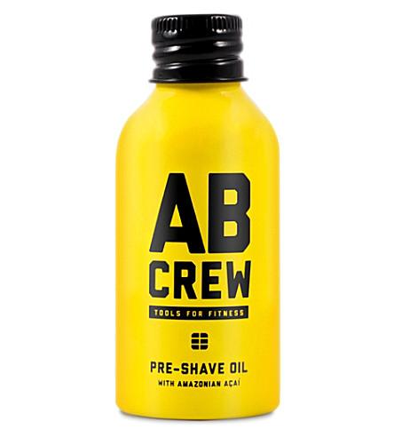 AB CREW Pre-Shave Oil 60ml