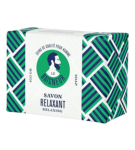 LE BAIGNEUR Relaxing soap bar 100g