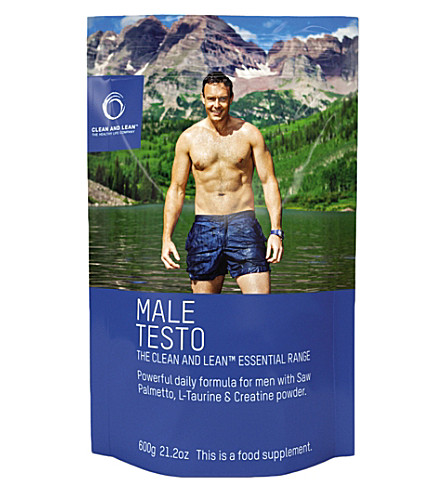 BODYISM CLEAN & LEAN Male Testo 600g