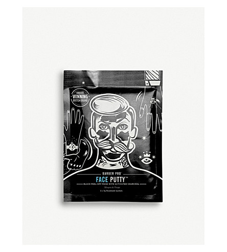 BARBER PRO Face Putty Peel-Off Mask 7g