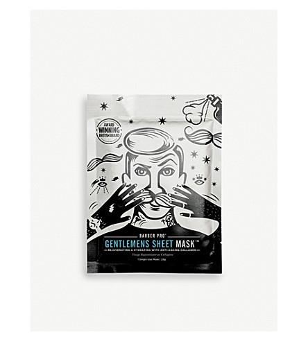 BARBER PRO Gentlemen's Sheet Mask 23g