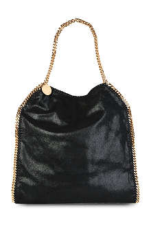 STELLA MCCARTNEY Falabella large faux-suede tote
