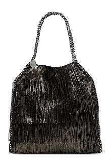 STELLA MCCARTNEY Falabella fringed bag