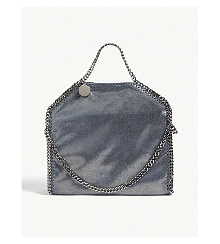 STELLA MCCARTNEY Falabella shoulder bag (Blue+lagoon