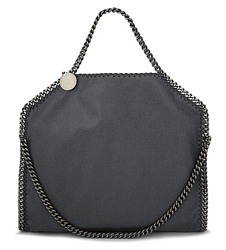 STELLA MCCARTNEY Falabella 单肩包 (暗 + 灰色