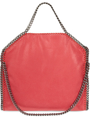 STELLA MCCARTNEY Falabella three-chain shoulder bag