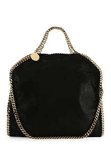 STELLA MCCARTNEY Falabella medium faux-suede tote
