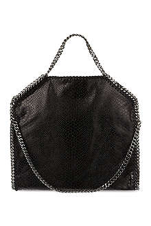 STELLA MCCARTNEY Embossed Falabella tote