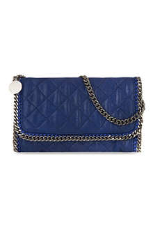 STELLA MCCARTNEY Falabella quilted clutch