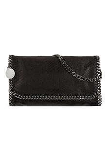 STELLA MCCARTNEY Falabella embossed faux leather bag
