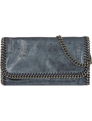 STELLA MCCARTNEY Falabella chain clutch bag