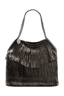STELLA MCCARTNEY Falabella small fringed bag