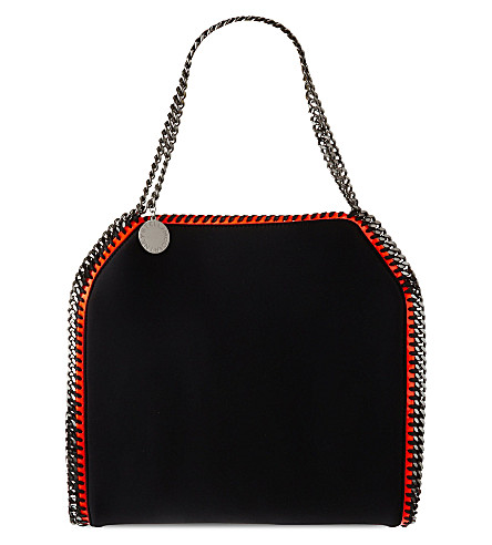 STELLA MCCARTNEY Falabella scuba tote (Black