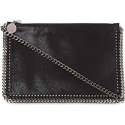 STELLA MCCARTNEY Falabella chain pouchette (Black