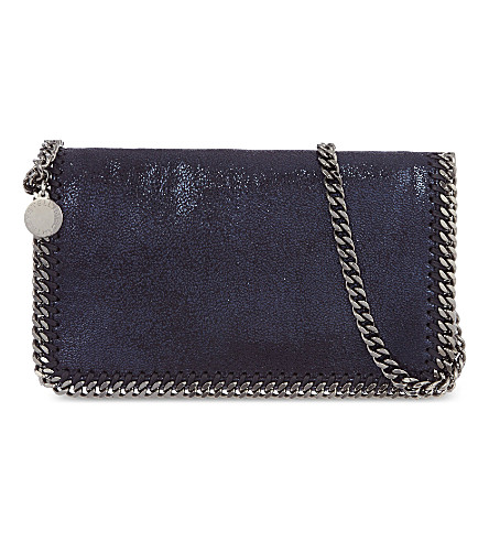 STELLA MCCARTNEY Falabella cross-body bag (Ink
