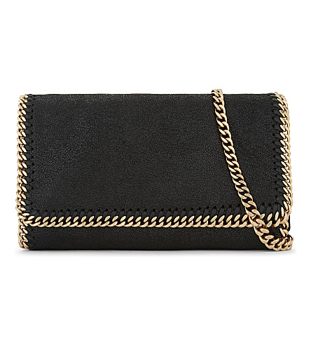 STELLA MCCARTNEY Falabella small cross-body bag (Black