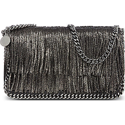 STELLA MCCARTNEY Falabella cross body bag (Black