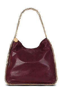 STELLA MCCARTNEY Falabella faux-suede hobo