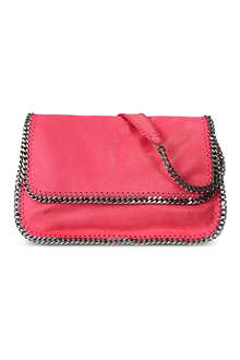 STELLA MCCARTNEY Falabella suede messenger bag