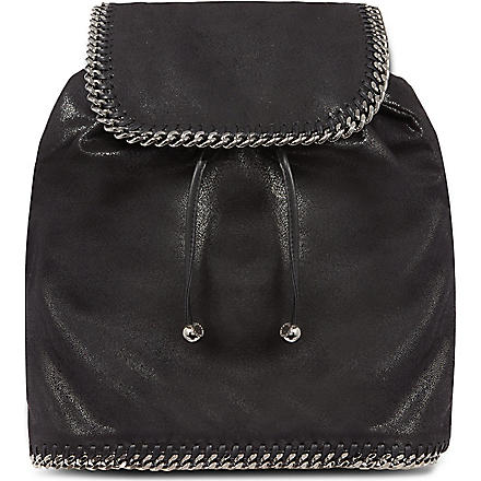 STELLA MCCARTNEY Falabella backpack (Black