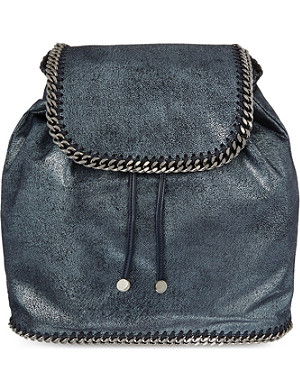 STELLA MCCARTNEY Falabella metallic backpack