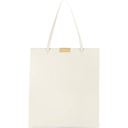 STELLA MCCARTNEY Beckett shopper bag (Ivory