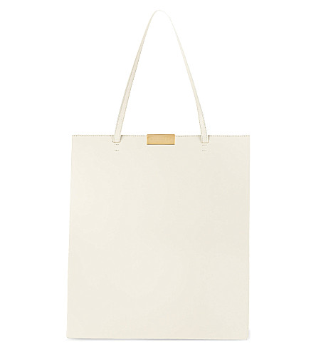 STELLA MCCARTNEY Beckett shopper bag (Ivory