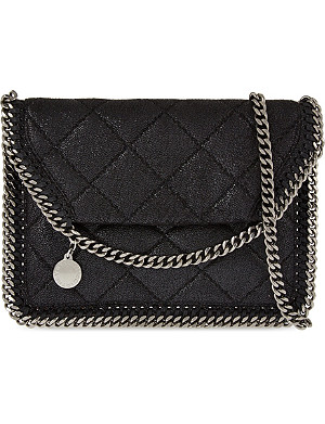 STELLA MCCARTNEY Falabella flat quilted shoulder bag