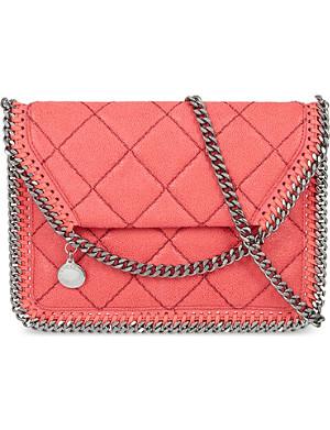 STELLA MCCARTNEY Falabella flat quilted shoulder bag