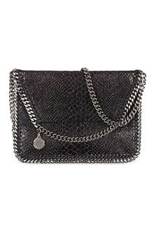 STELLA MCCARTNEY Falabella lizard-look cross-body bag