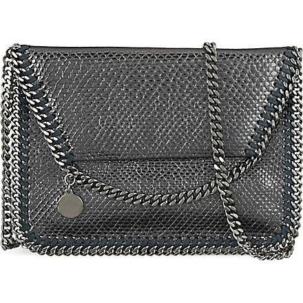 STELLA MCCARTNEY Falabella crossbody bag (Pewter