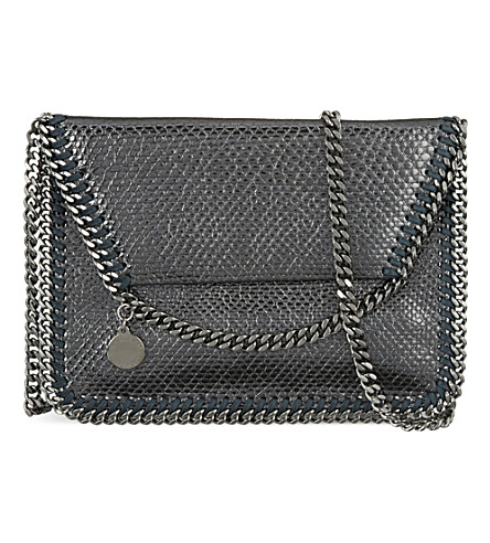STELLA MCCARTNEY Falabella crossbody bag (Pewter