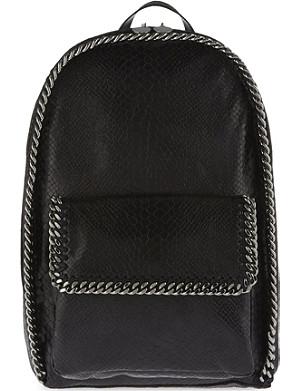 STELLA MCCARTNEY Snake-print backpack