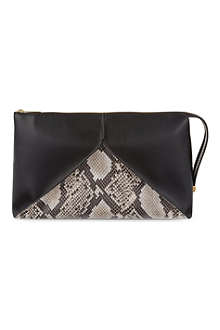 STELLA MCCARTNEY Beckett four-panel clutch