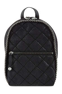 STELLA MCCARTNEY Mini Falabella quilted backpack