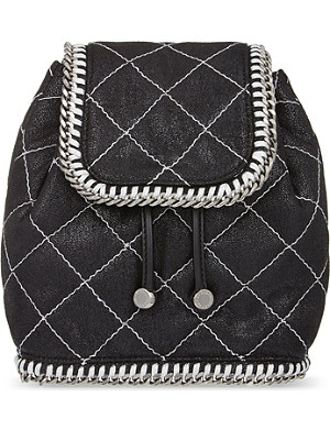 STELLA MCCARTNEY Quilted mini backpack