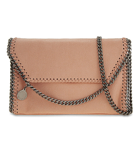 STELLA MCCARTNEY Falabella cross-body bag (Apricot
