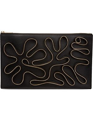 STELLA MCCARTNEY Cavendish zip clutch bag