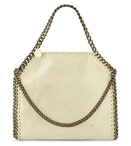 STELLA MCCARTNEY Falabella faux-leather cross-body bag (Lemon