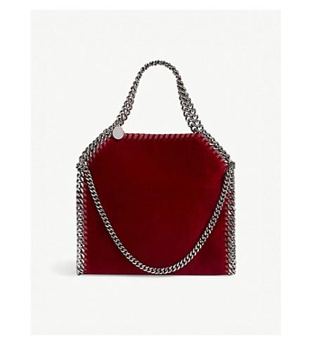MCCARTNEY Mini red Bella shoulder Baby velvet STELLA Lover bag vB7wdv