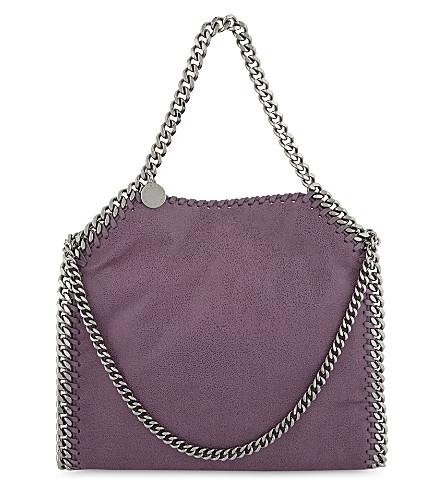 STELLA MCCARTNEY 迷你婴儿贝拉仿皮手提包 (紫水晶