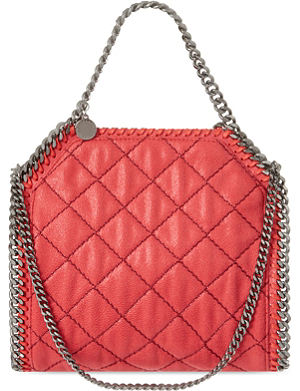 STELLA MCCARTNEY Mini Baby Bella quilted tote