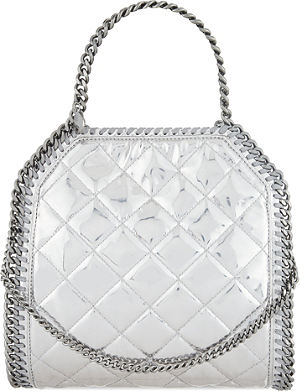 STELLA MCCARTNEY Mini Babybella quilted shoulder bag