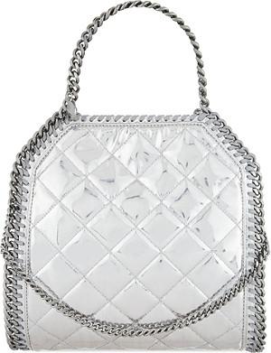 STELLA MCCARTNEY Mini Babybella quilted shoulder bag