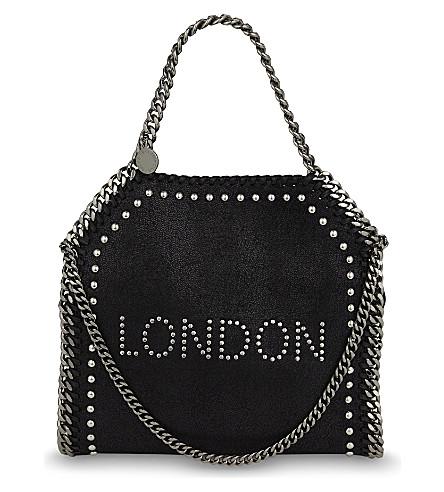 STELLA MCCARTNEY Falabella london mini tote (Black