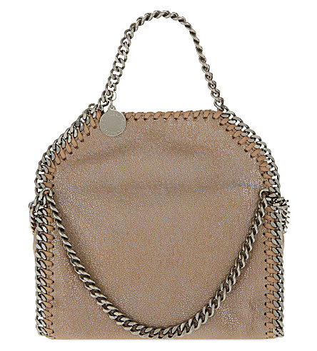STELLA MCCARTNEY Tiny Falabella shoulder bag (Redwood