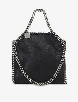 STELLA MCCARTNEY Tiny Falabella shoulder bag (Black