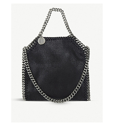 STELLA MCCARTNEY Tiny Falabella shoulder bag (Black