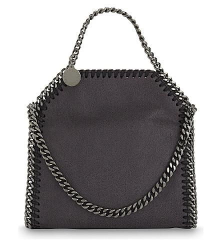 STELLA MCCARTNEY Tiny Falabella shoulder bag (Dark grey